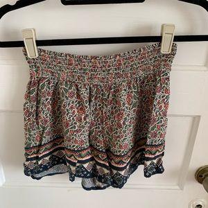 Hollister Printed Shorts